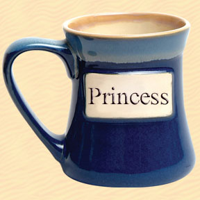Princess Tumbleweed Classic Word Oversized Coffee Mug