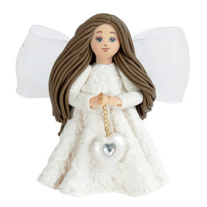 Pavilion Gift Kneeded Angel Figurines