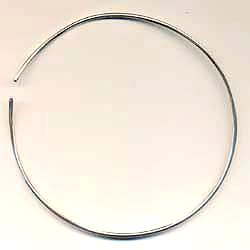 Thin Tube Sterling Silver Neckwire Charles Albert