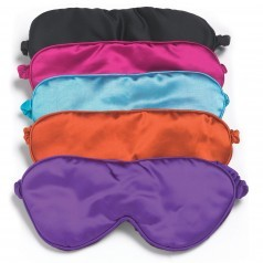 Luxurious Lavender Silk Eye Masks by Aroma Home