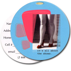 It's All About The Shoes High Cotton Funny Luggage Tags