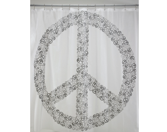Ore Living Goods Peace Shower Curtain
