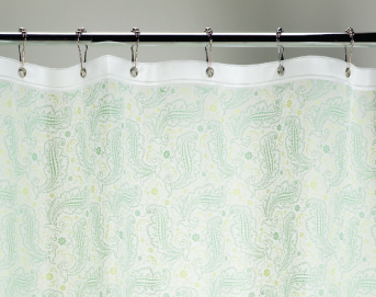 Ore Living Goods Vintage Paisley Shower Curtain-OOS