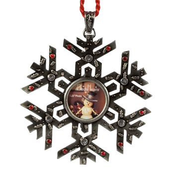 The Birchhearts Snowflake Ornament w/Crystals by Pavilion Gift