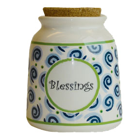 Tumbleweed Blessings Designer Word Jar