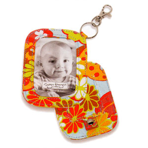 Ore Crazy Paisley Canvas Photo Brag Tag