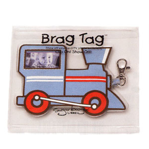 Ore Train Photo Busy Brag Tag