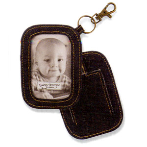 Ore Indigo Denim Photo Brag Tag