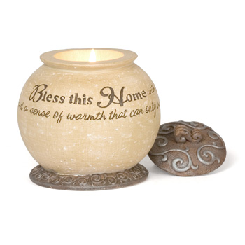 Comfort to Go Bless This Home Candle by Pavilion Gift