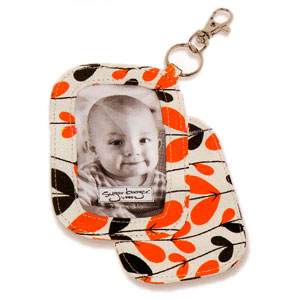 Ore Orange Petals Photo Brag Tag