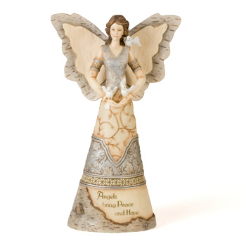 "Peace and Hope 12"" Elements Angel"