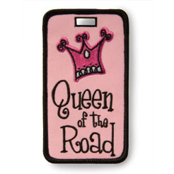 Finders Key Purse Queen of the Road Not Just A Luggage Tag