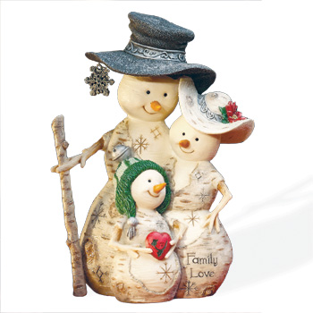 """The Birchhearts 6"""" Family Love Figurine by Pavilion Gift"""