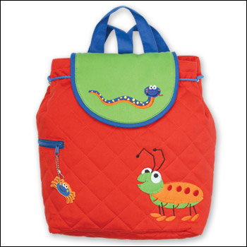 Stephen Joseph Bugs & Snake Quilted Backpack