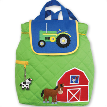 Stephen Joseph Farm Theme Quilted Backpack