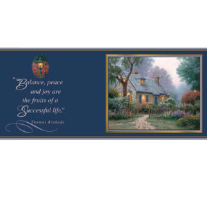 Thomas Kinkade Painter of Light Foxglove Cottage Everyday Coffee Mug