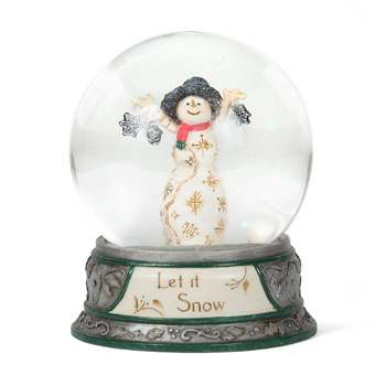 "The Birchhearts 65 mm Water globe ""Let it Snow"" by Pavilion Gift"