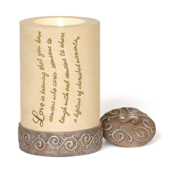 Comfort to Go Love Candle by Pavilion Gift