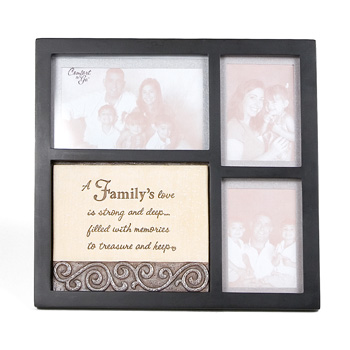 Comfort to Go Family Collage Frame by Pavilion Gift