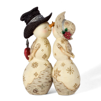 "The Birchhearts 5"" Winter Love Figurine by Pavilion Gift"