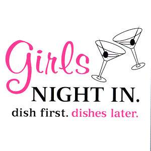Girls Night In High Cotton Funny Apron