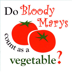 Do Bloody Marys Count As A Vegetable High Cotton Funny Apron