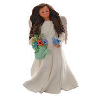 Good Nature Kneeded Angel Figurine