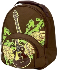Rocker Guitar Toddler Backpack by Four Peas