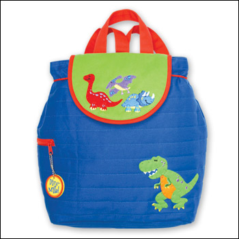 Stephen Joseph Dinosaur Theme Quilted Backpack