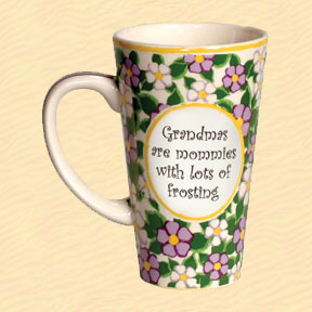 Tumbleweed Grandmas Are Mommies With Lots of Frosting Tall Coffee Mug