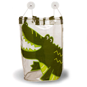 Ore Living Goods Crocodile Bath Tub Toy Bag