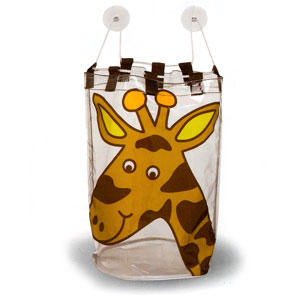 Ore Living Goods Giraffe Bath Tub Toy Bag
