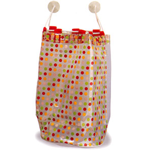 Ore Living Goods Red Dots Bath Tub Toy Bag