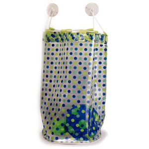 Ore Living Goods Blue Dots Bath Tub Toy Bag