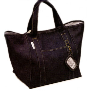Ore Indigo Denim Weekender Tote Bag