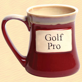 Golf Pro Tumbleweed Classic Word Oversized Coffee Mug