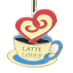 Latte Lover Finders Key Purse
