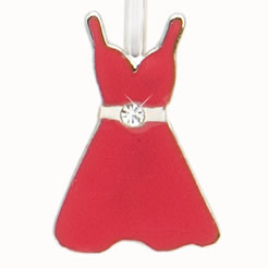 Red Dress Finders Key Purse