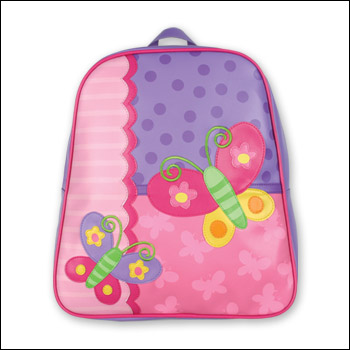 Stephen Joseph Pink Butterfly Go Go Backpack