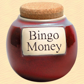 Tumbleweed Bingo Money Classic Word Jar