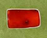 Red Coral Adjustable Ring Charles Albert - DISCONTINUED