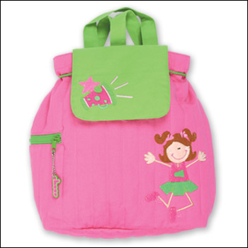 Stephen Joseph Quilted Cheer Girls Backpack