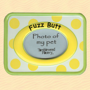 Tumbleweed Fuzz Butt Pet Photo Frame