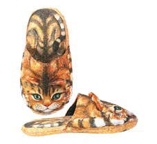 Funny Kitty Cat Adult Slippers