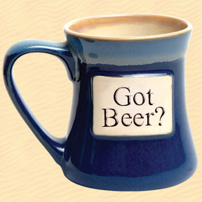 Got Beer? Tumbleweed Classic Word Oversized Coffee Mug