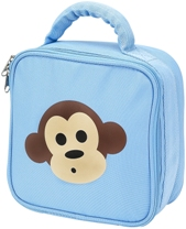 Four Peas Blue Monkey Lunch Bag