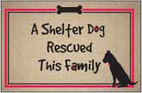 Shelter Dog Doormat