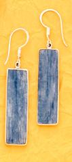 Kyanite Earrings by Charles Albert