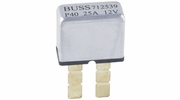 Bussmann BP/UCB-25-RP  Type I ATC Footprint 25 Amp Automatic Circuit Breaker with Snap-Off Blades