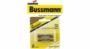 """Cooper Bussmann AGU Fast-Acting Glass Tube Midget Fuses 13/32"""" x 1-1/2"""" with Gold-Plated End Caps"""